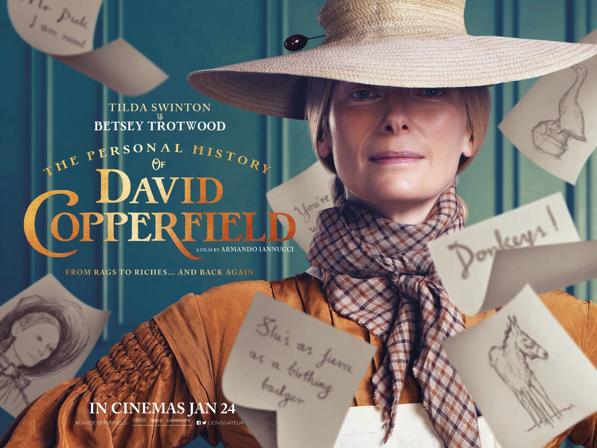 The Personal History of David Copperfield Poster #3