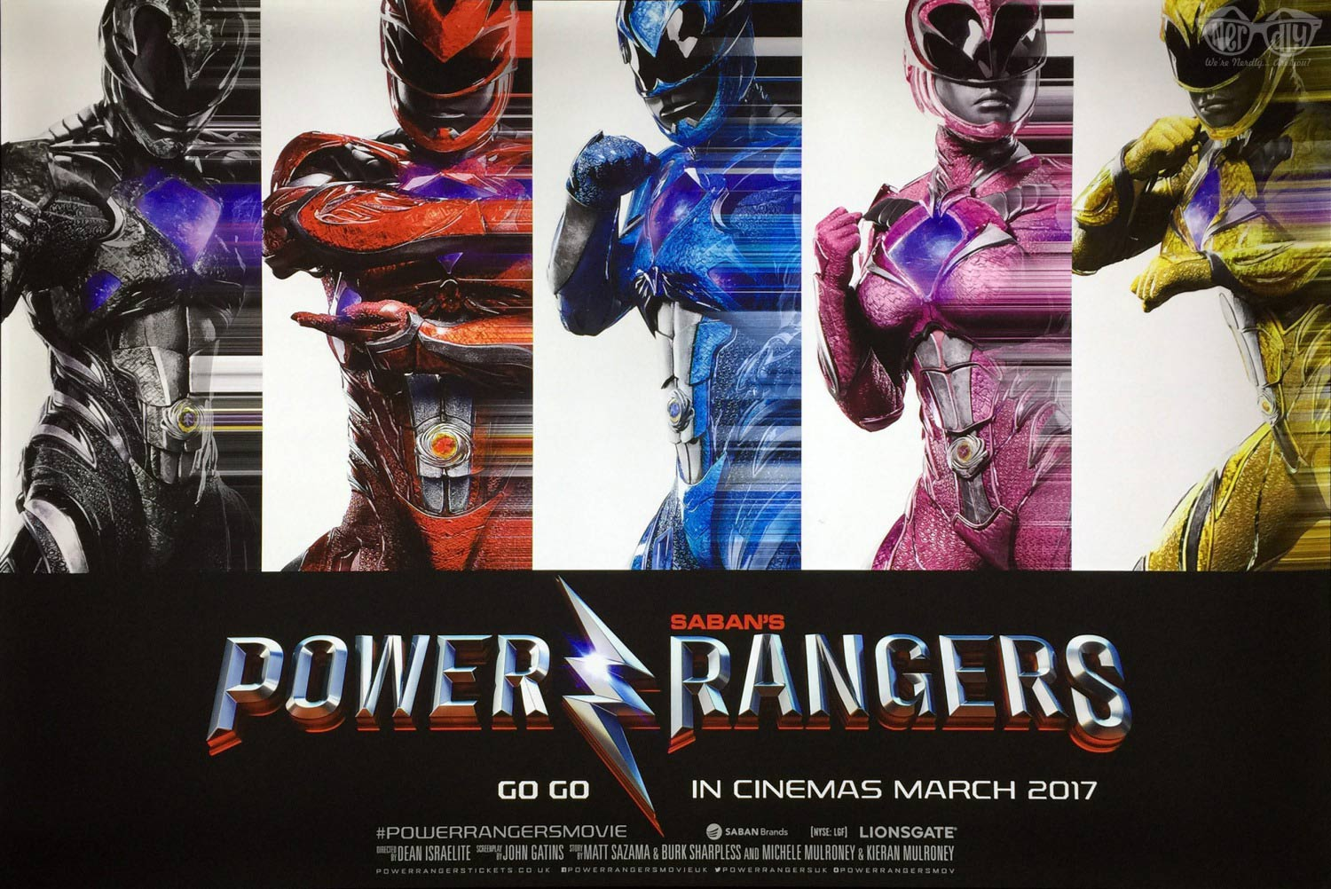 Power Rangers Poster #17