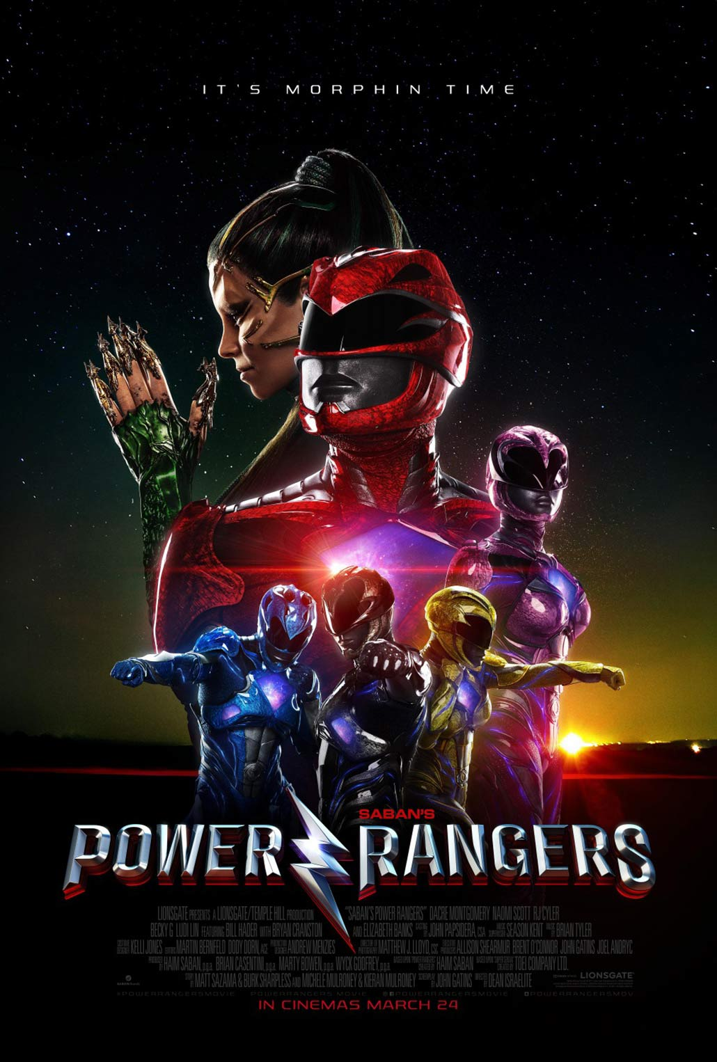 Power Rangers Poster #21