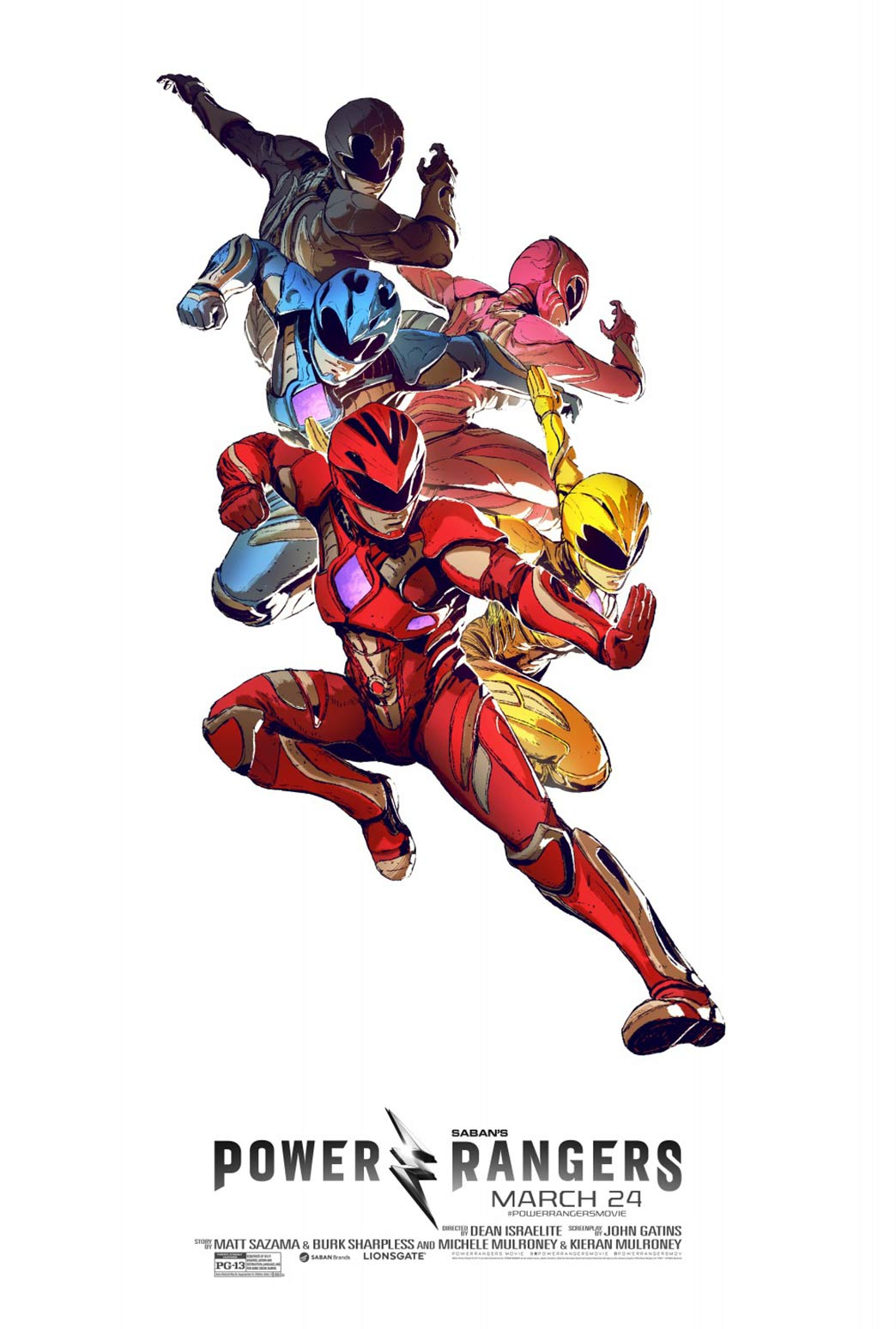 Power Rangers Poster #30