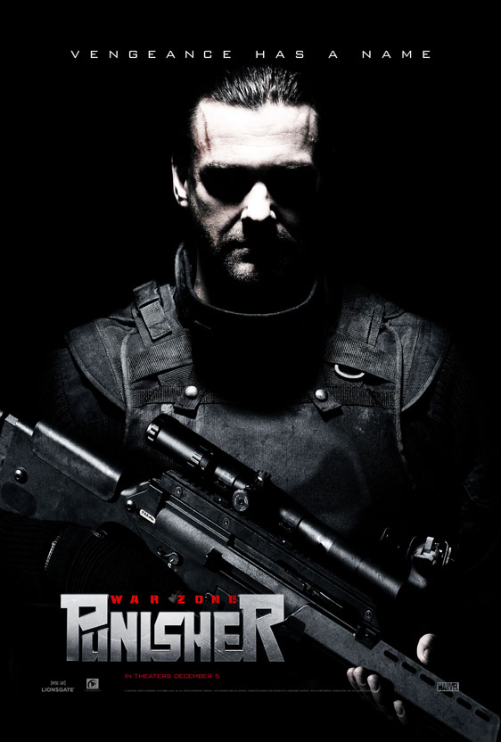 Punisher: War Zone Poster #3