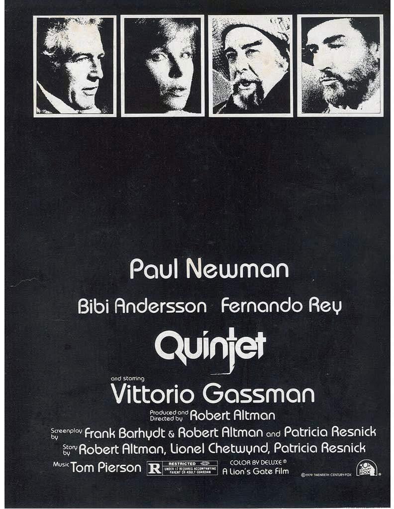 Quintet Poster #1
