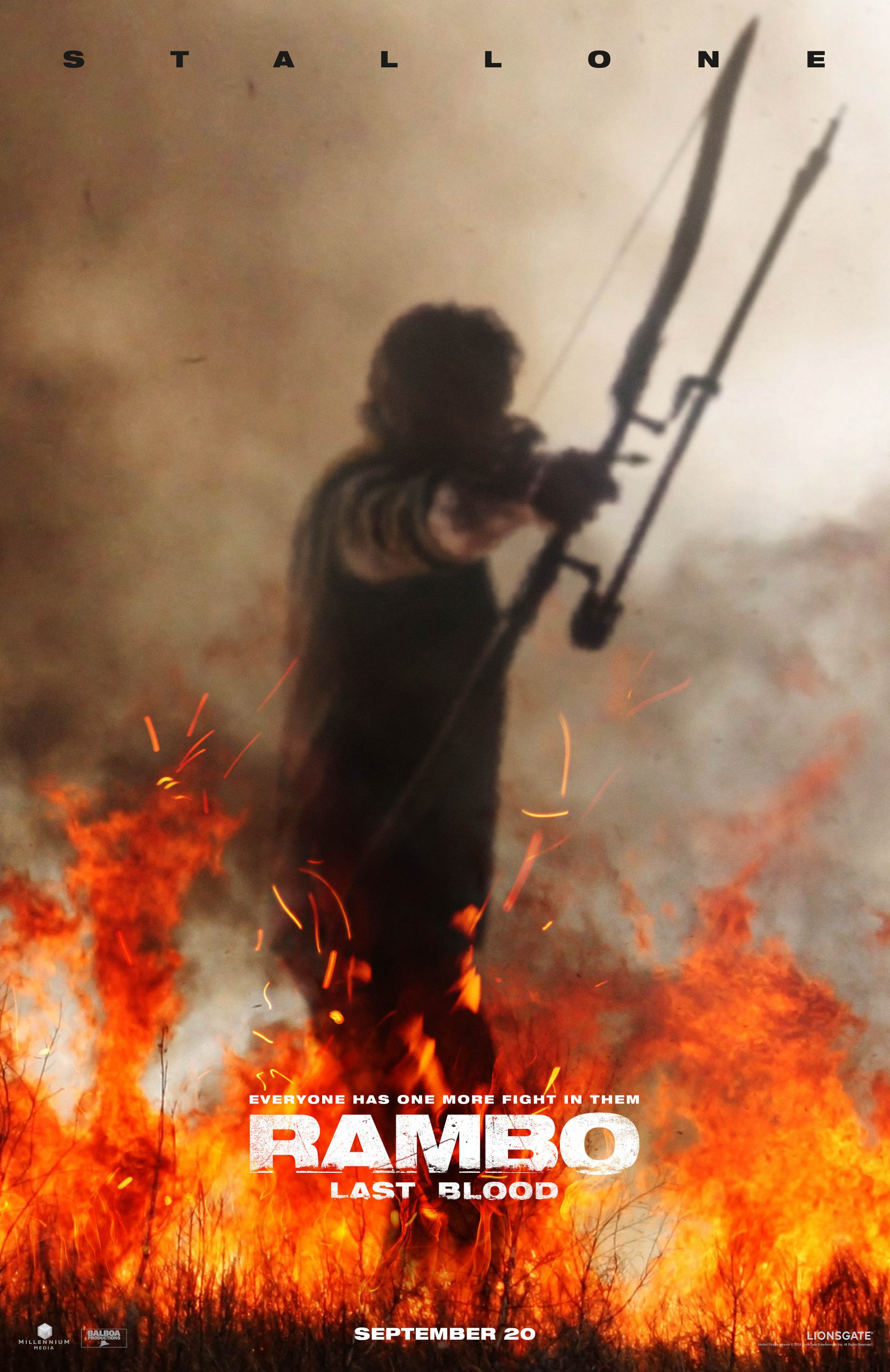 Rambo: Last Blood Poster #1