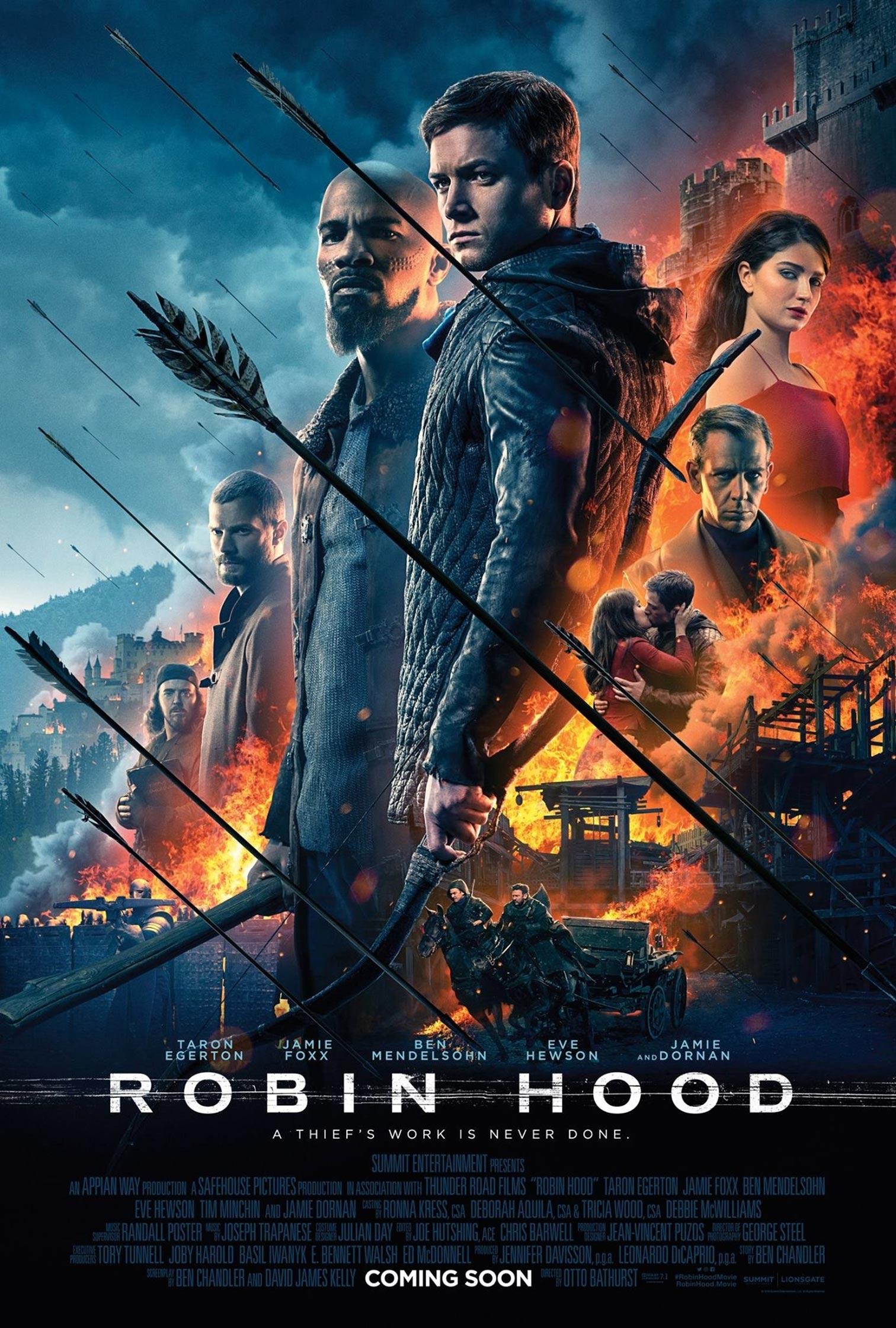 robin hood 2018 poster 4 trailer addict. Black Bedroom Furniture Sets. Home Design Ideas
