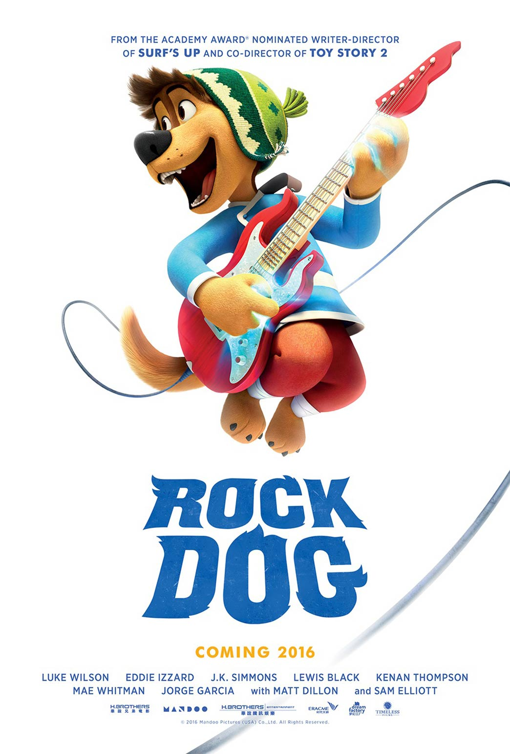 Rock Dog Poster #1