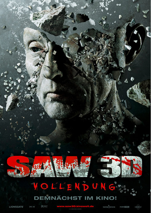 Saw 3D Poster #7