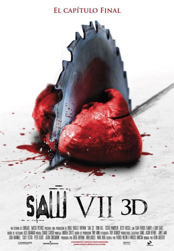 Saw 3D Poster #9