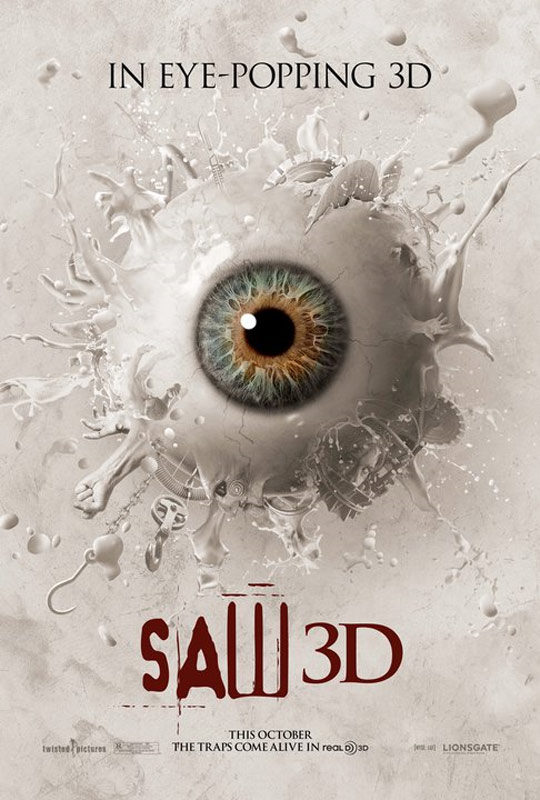 Saw 3D Poster #1