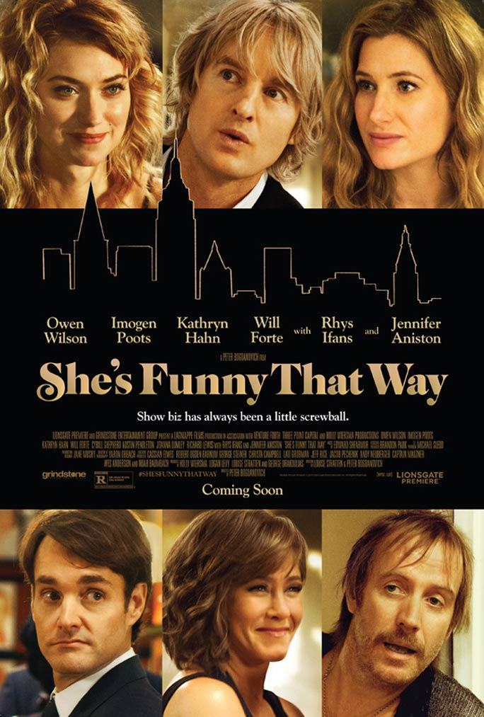 She's Funny That Way Poster #2