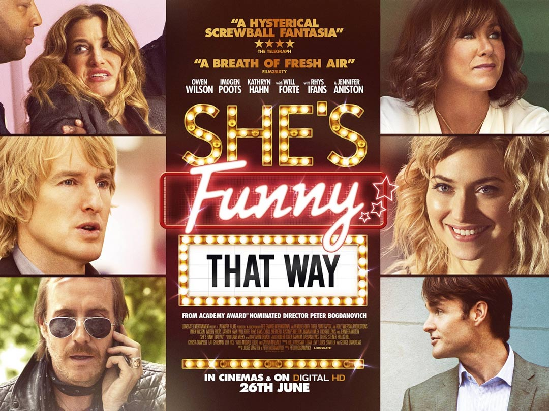 She's Funny That Way Poster #1