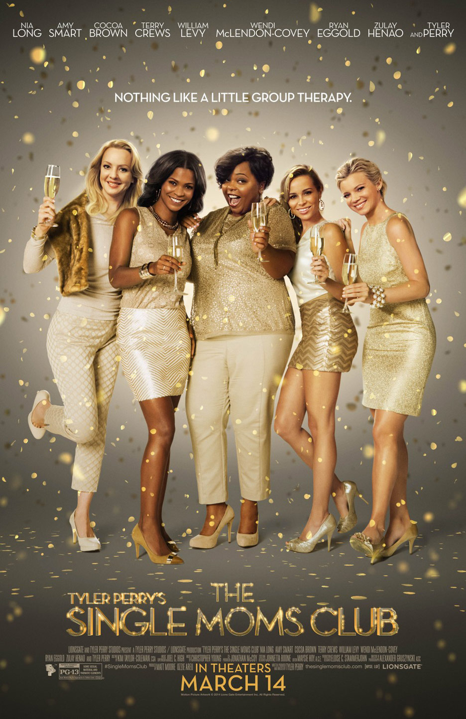 Tyler Perry's Single Mom's Club Poster #1