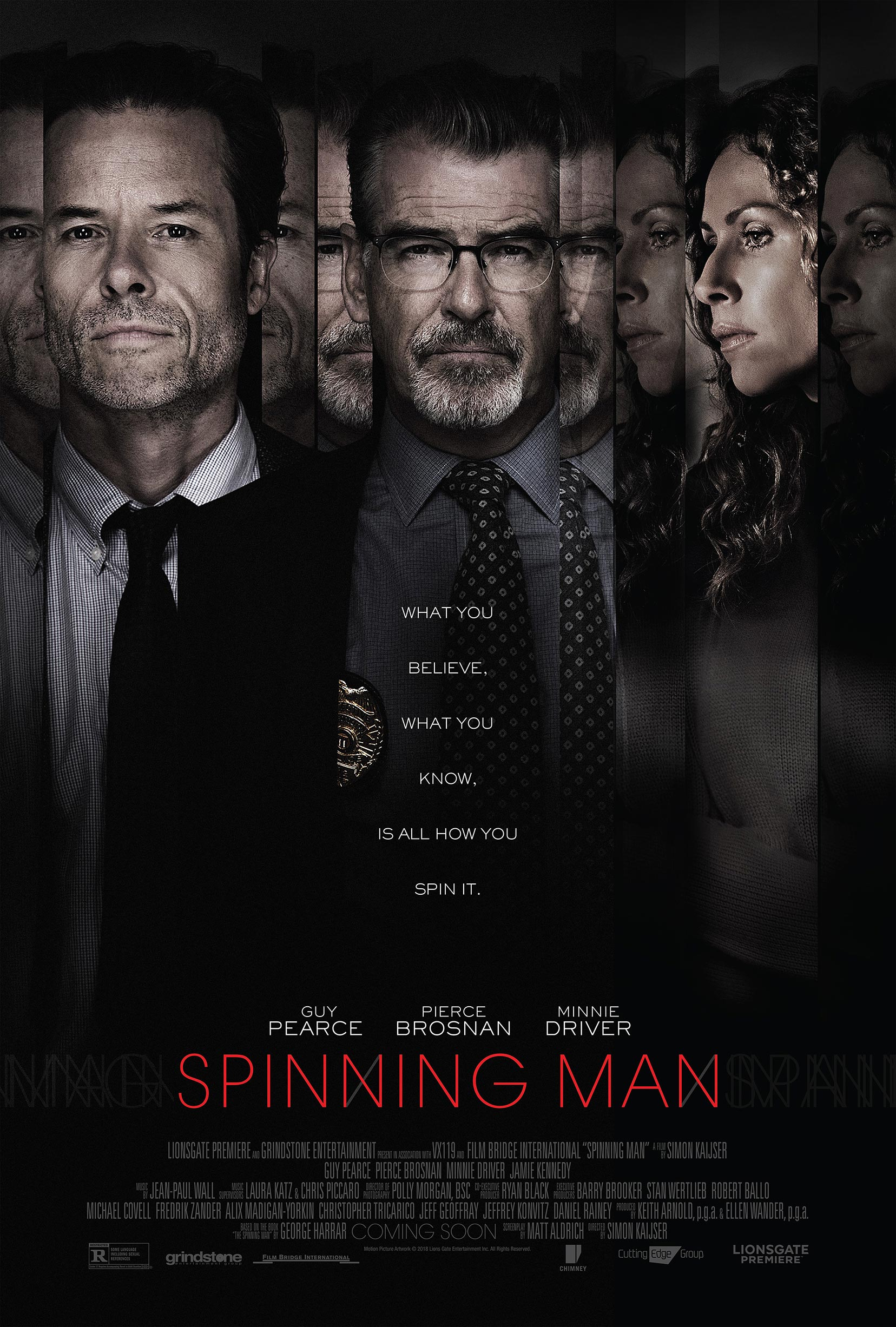 Spinning Man Poster #1