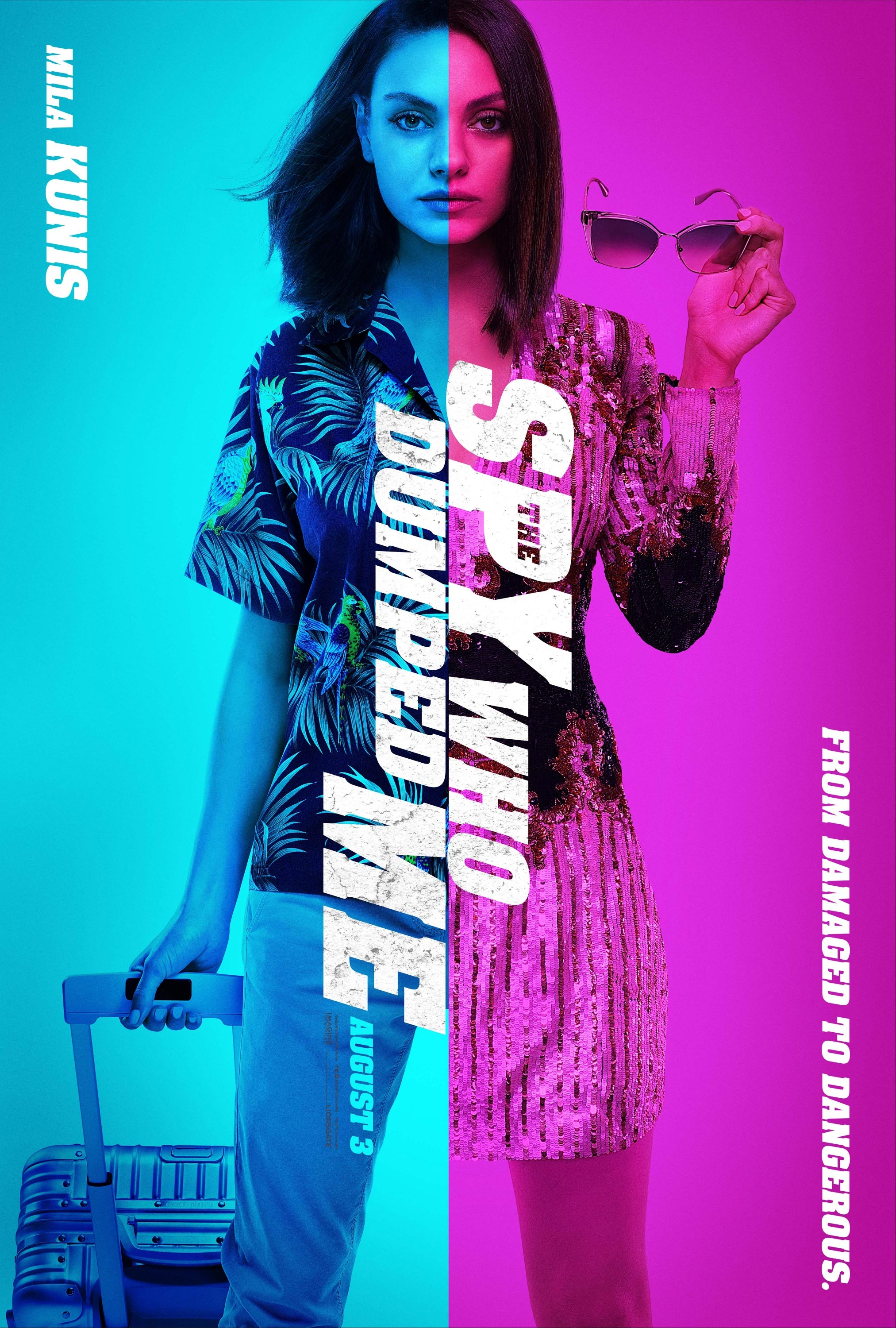 The Spy Who Dumped Me Poster #2