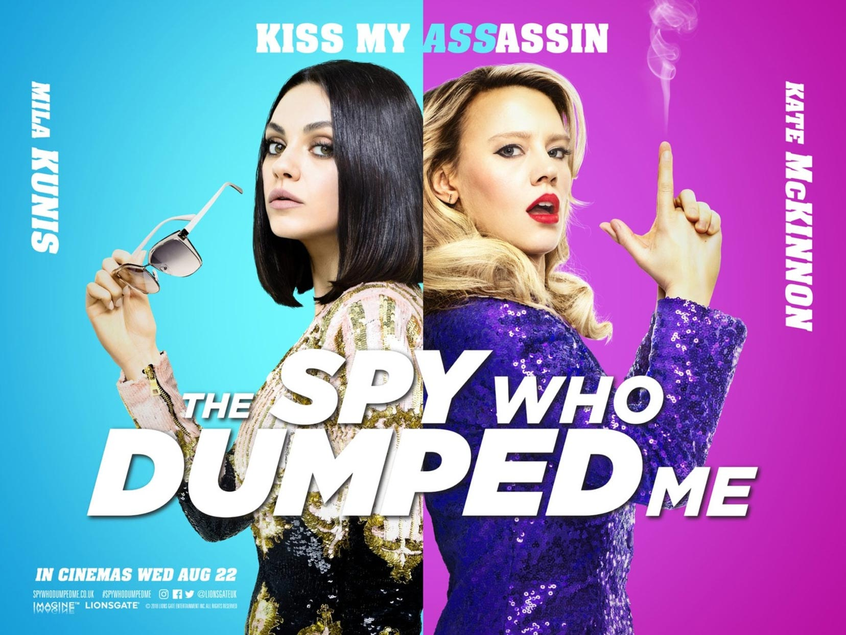 The Spy Who Dumped Me Poster #5