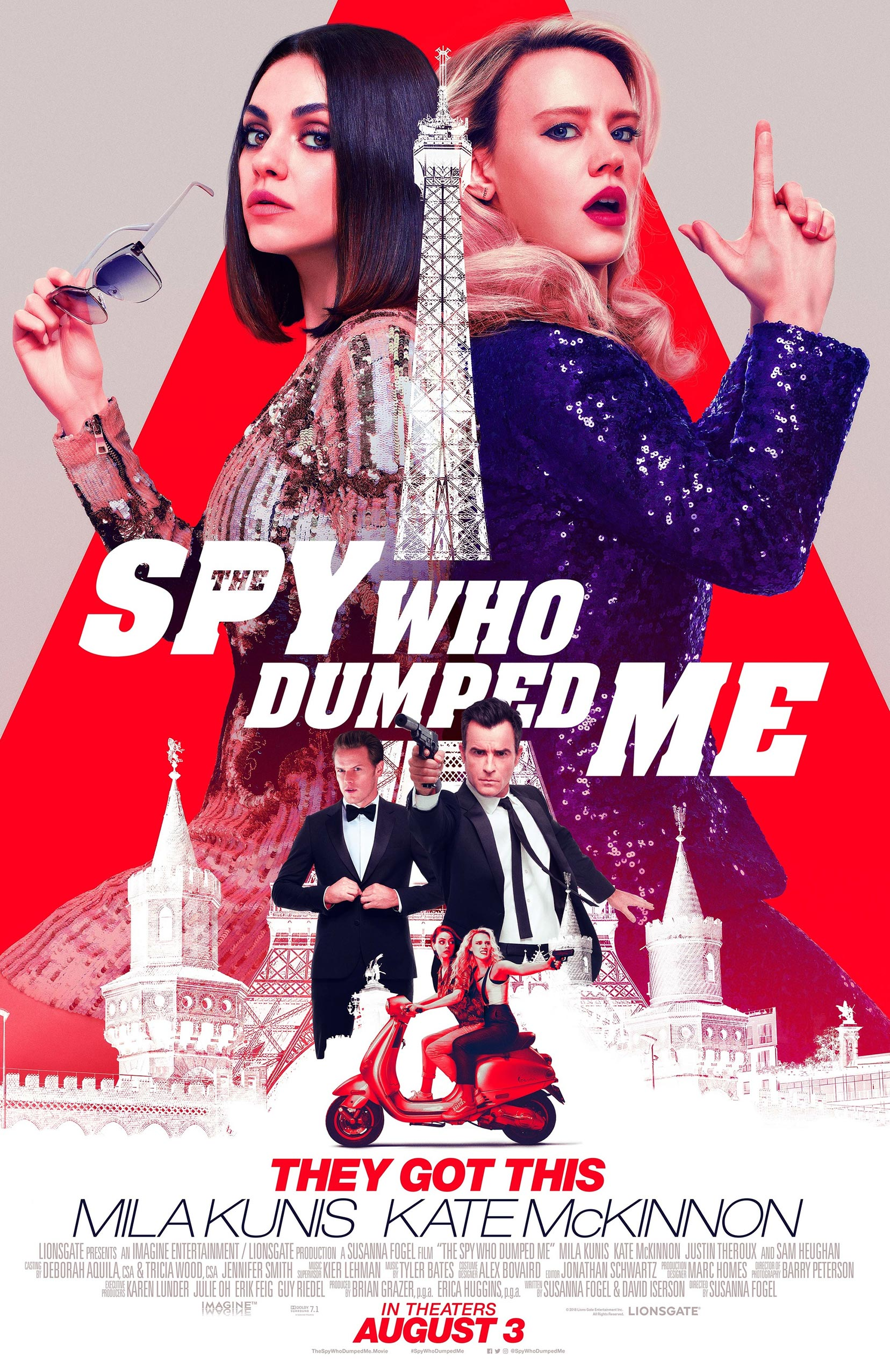 The Spy Who Dumped Me Poster #6