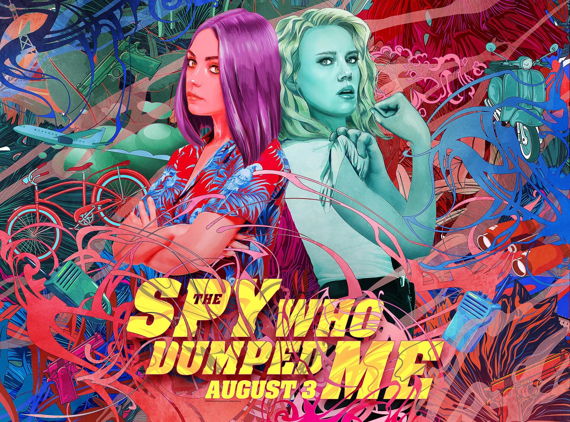 The Spy Who Dumped Me Poster #7