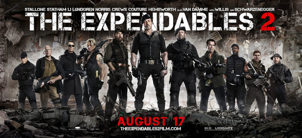 The Expendables 2 Poster #12