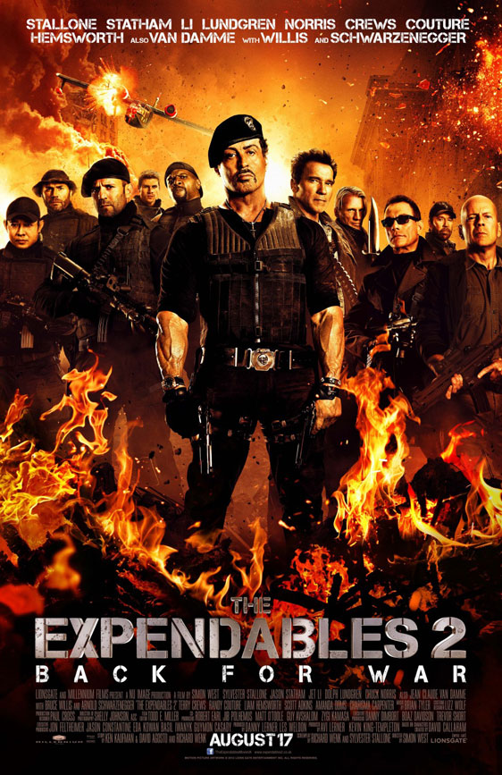 The Expendables 2 Poster #14