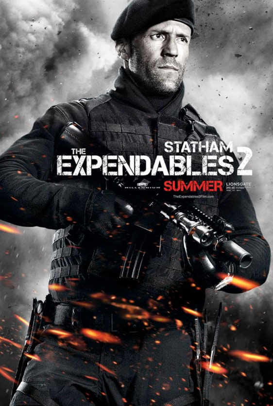 The Expendables 2 2012 Poster 3 Trailer Addict
