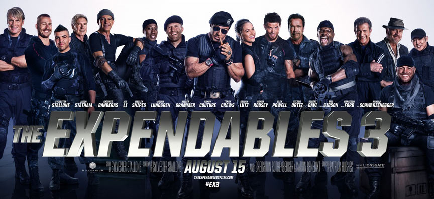 The Expendables 3 Poster #17