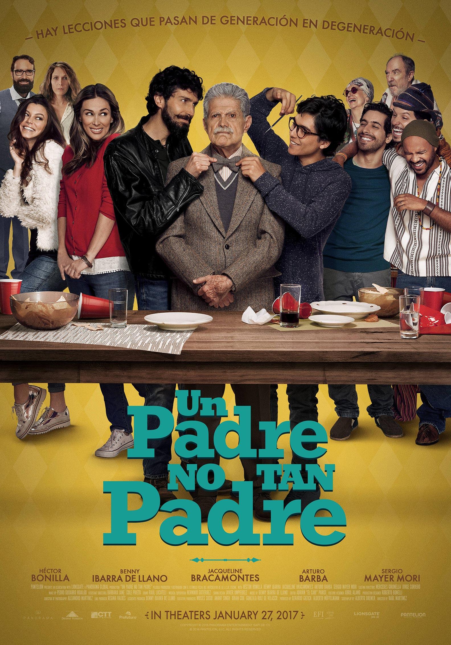 Un Padre No Tan Padre Poster #1