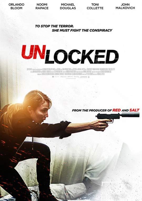 Unlocked (2017) Poster #1 - Trailer Addict