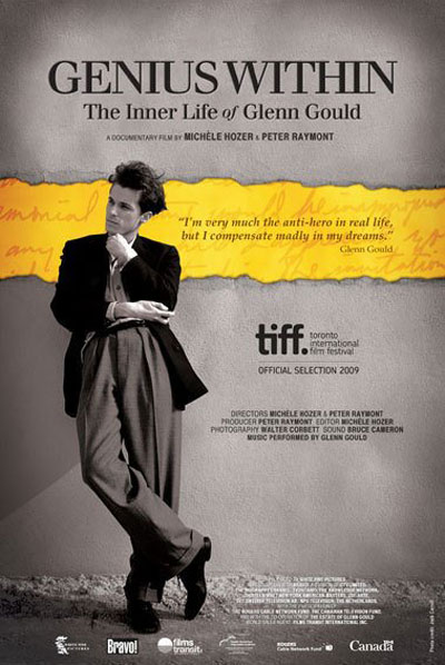 Genius Within: The Inner Life of Glenn Gould Poster #1