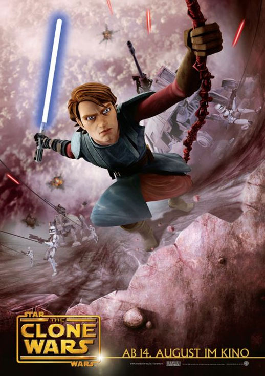 Star Wars: The Clone Wars Poster #11