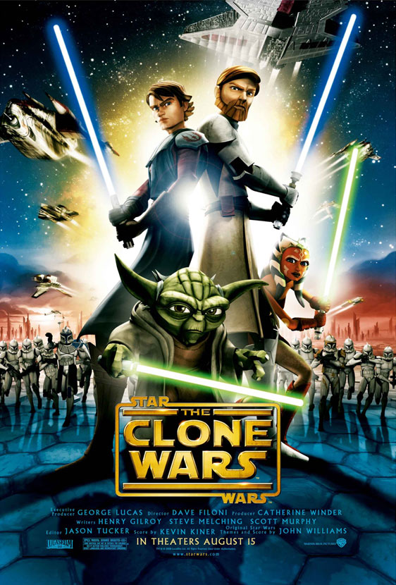 Star Wars: The Clone Wars Poster #2