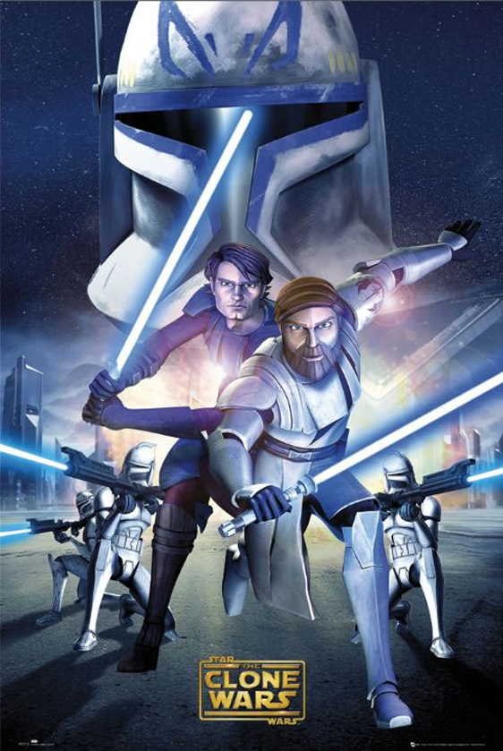 Star Wars: The Clone Wars Poster #7