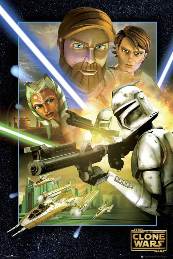 Star Wars: The Clone Wars Poster #8