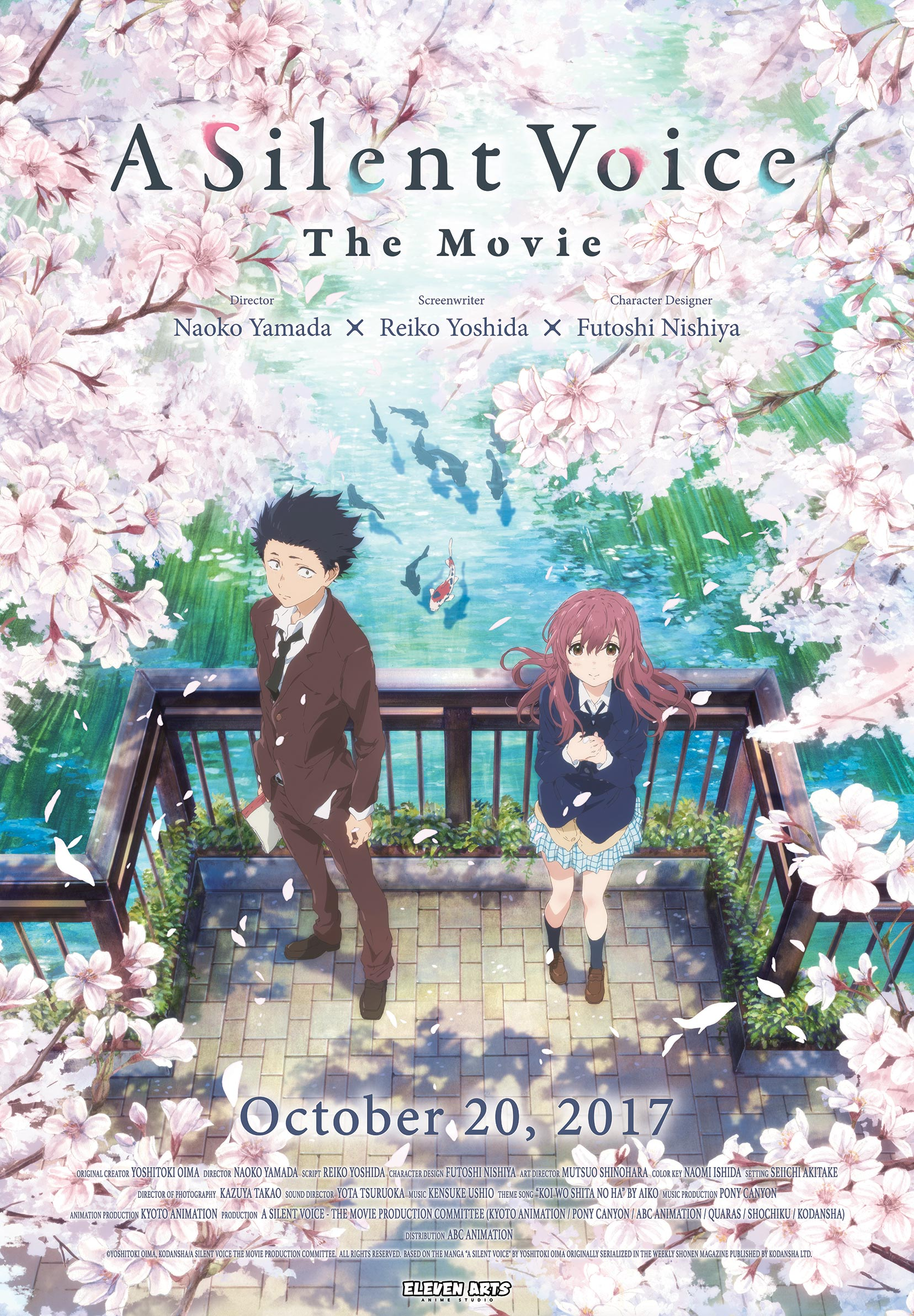 A Silent Voice Poster #1