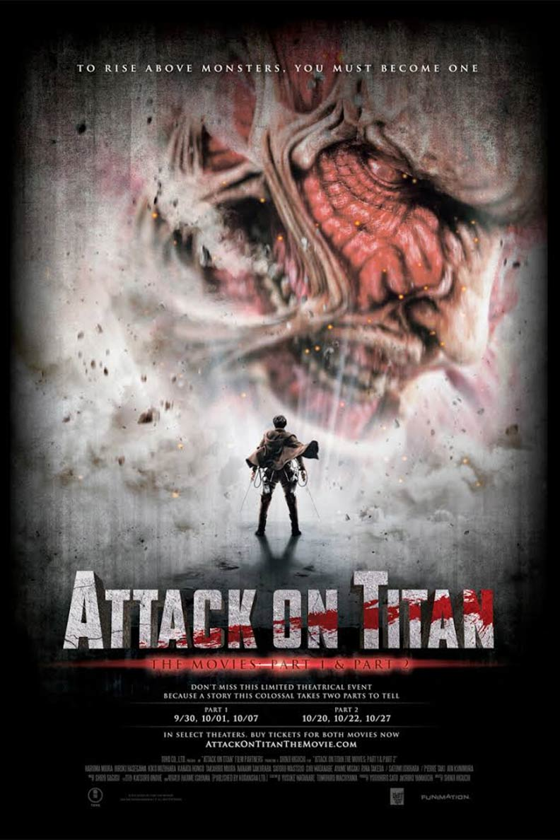 Attack on Titan: Part 2 Poster #1