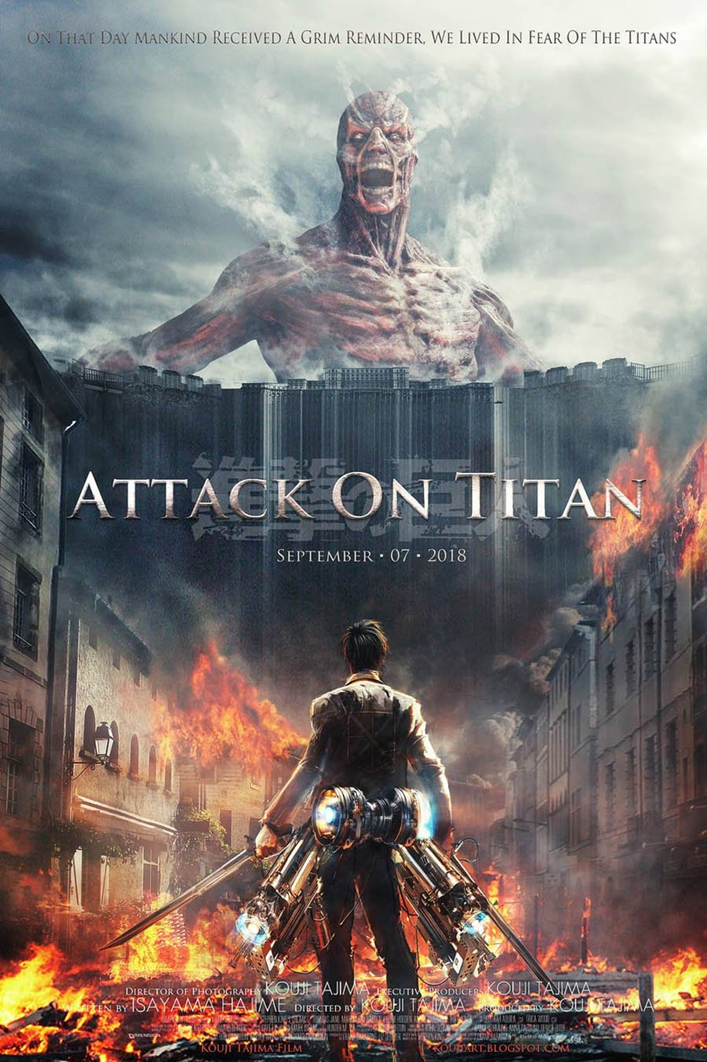 Attack on Titan Poster #1