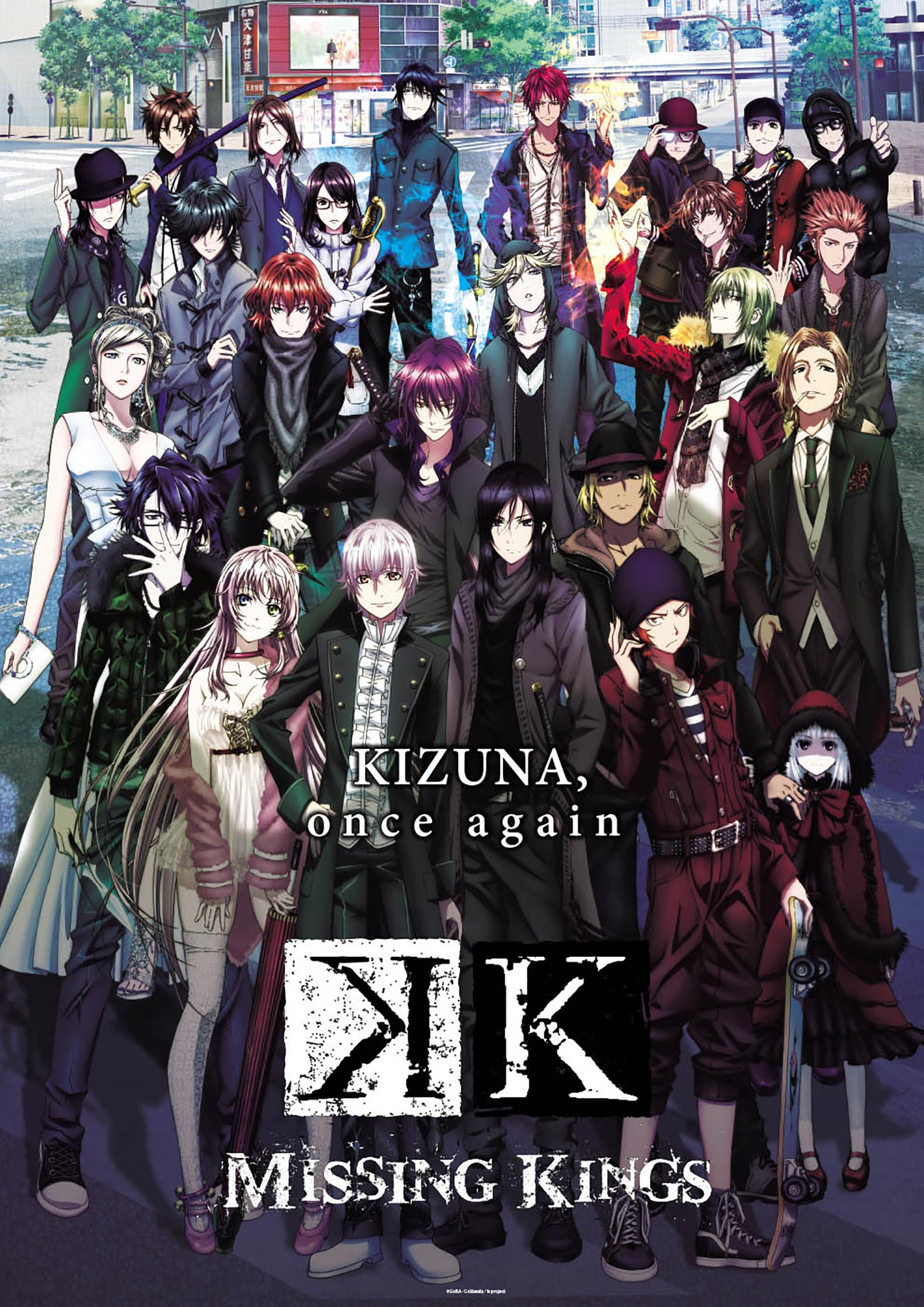 K: Missing Kings Poster #1