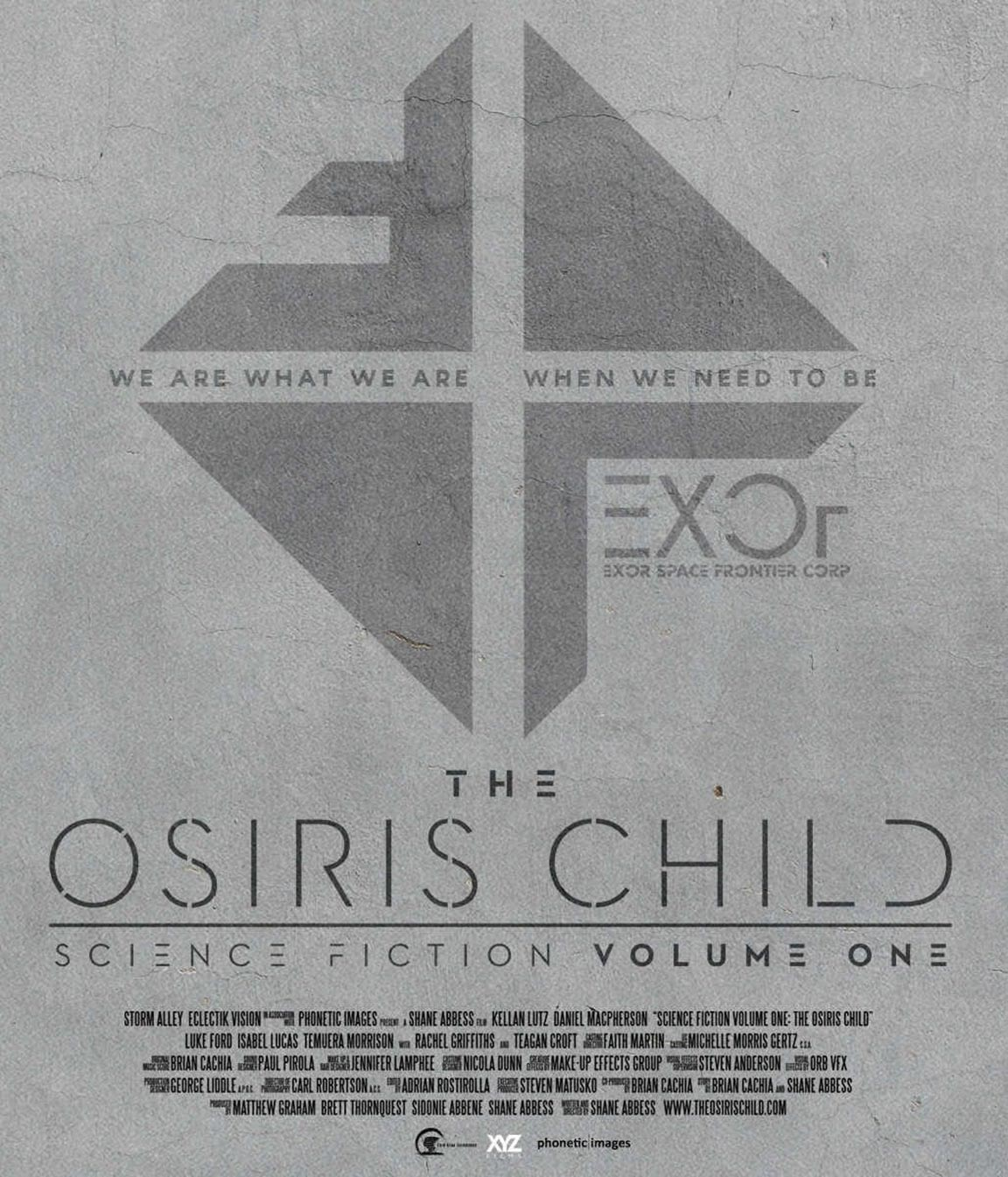 The Osiris Child: Science Fiction Volume One Poster #1