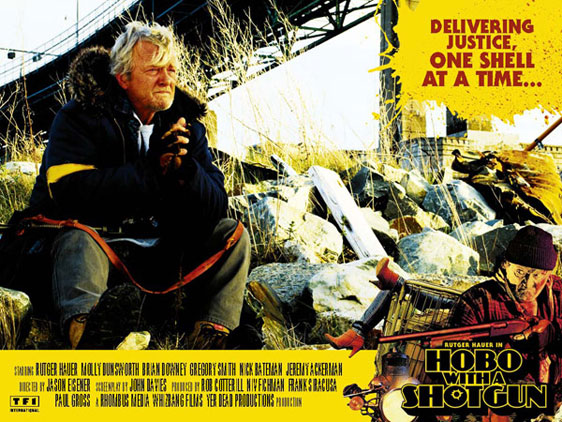 Hobo with a Shotgun Poster #8