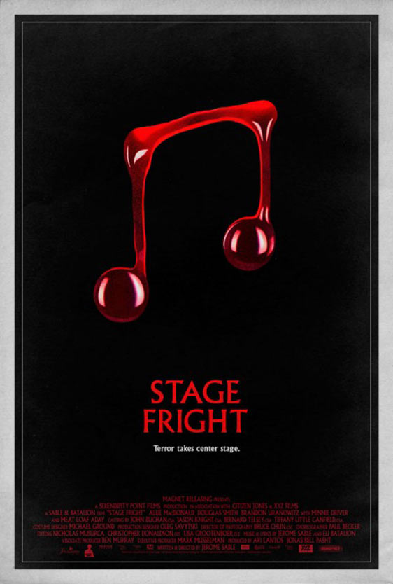Stage Fright Poster #2