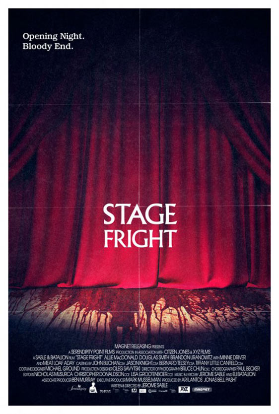 Stage Fright Poster #3