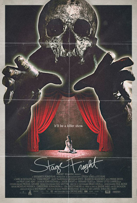 Stage Fright Poster #4