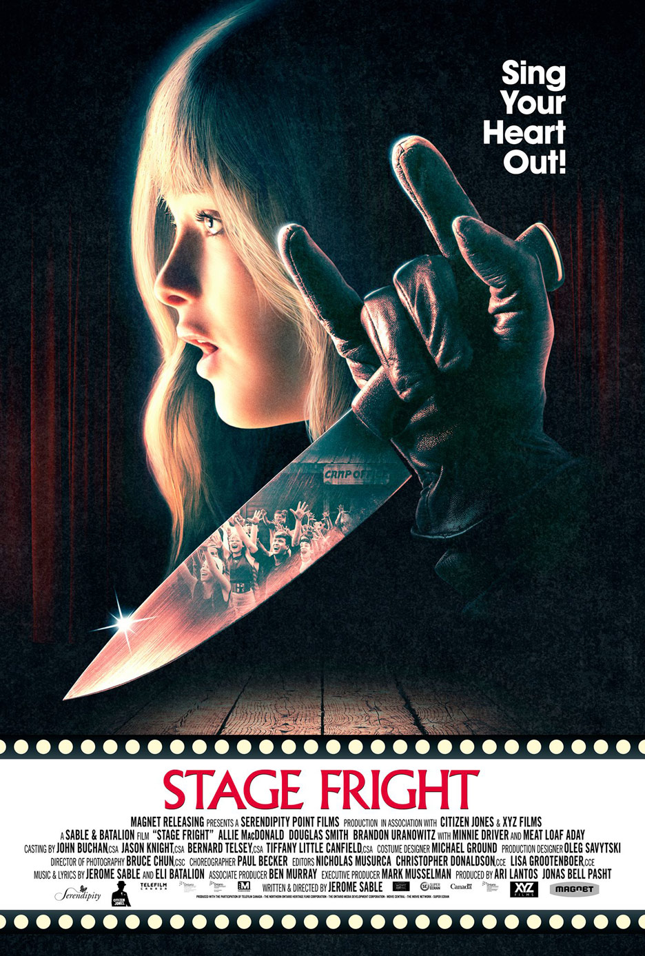 Stage Fright Poster #1