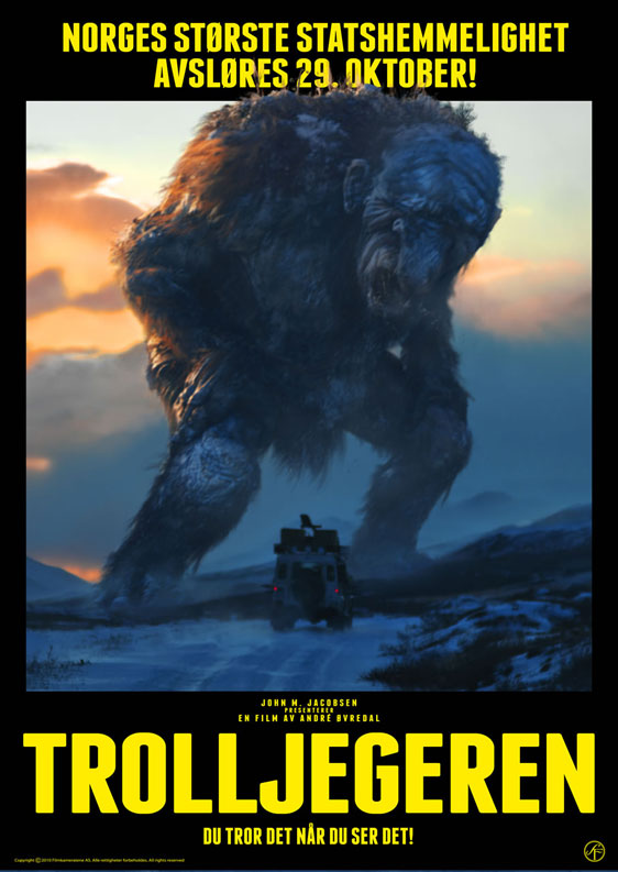 The Troll Hunter Poster #1