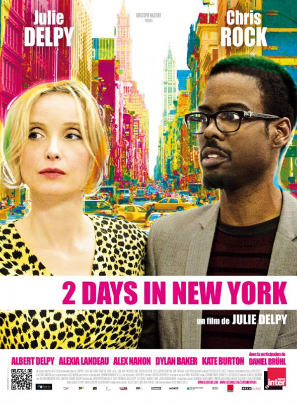 2 Days in New York Poster #2