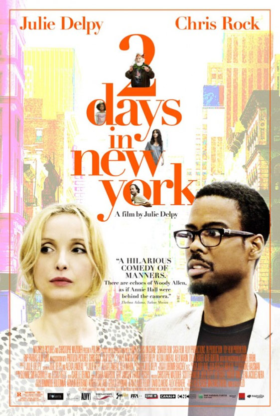 2 Days in New York Poster #1
