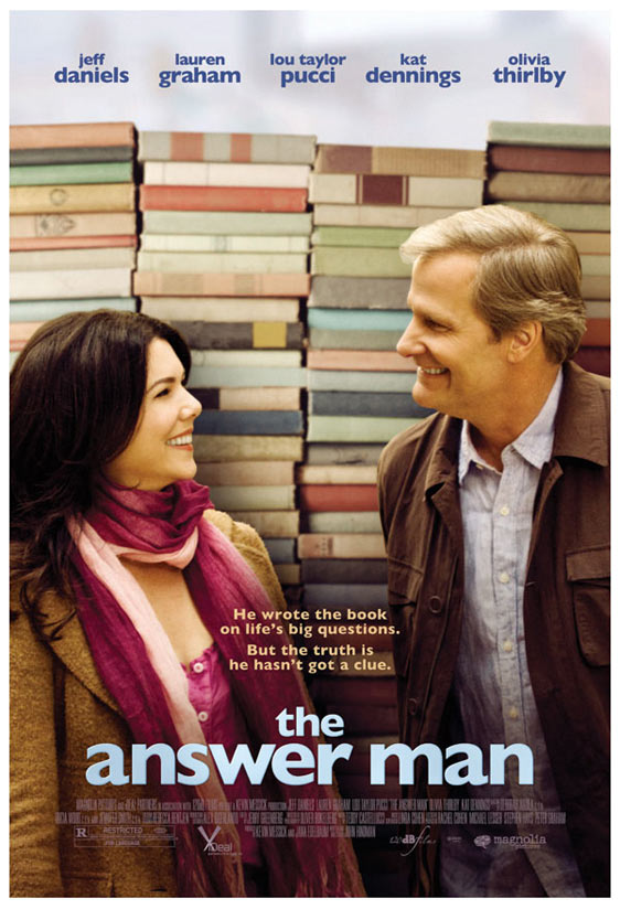 The Answer Man Poster #1