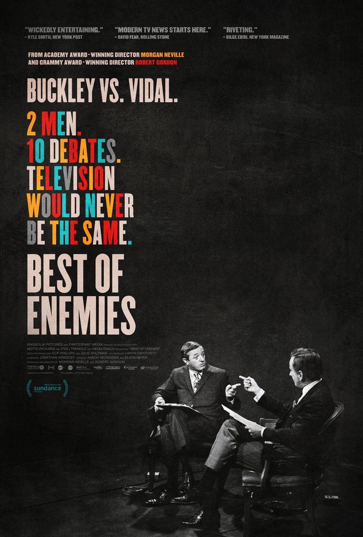 Best of Enemies Poster #1