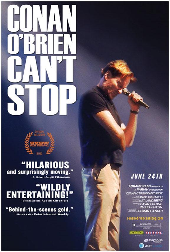 Conan O'Brien Can't Stop Poster #1