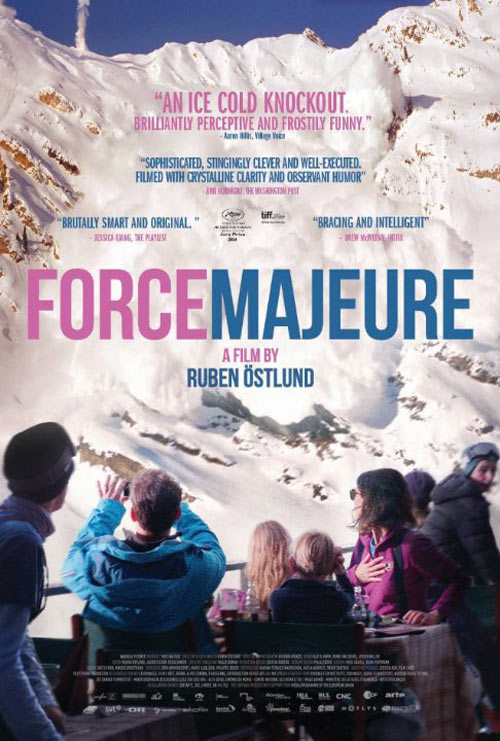 Force Majeure Poster #1