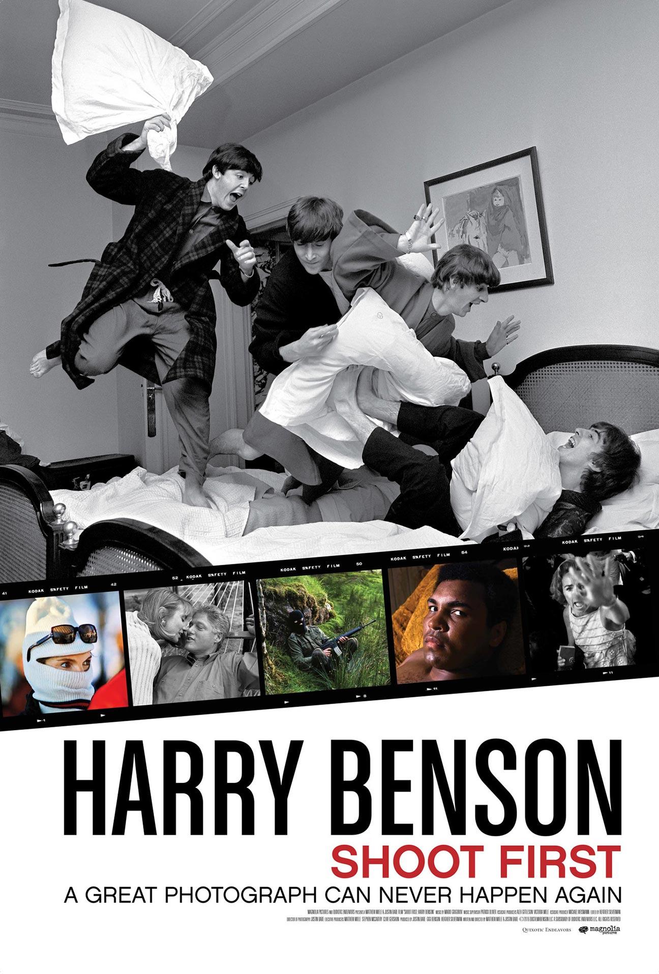 Harry Benson: Shoot First Poster #1