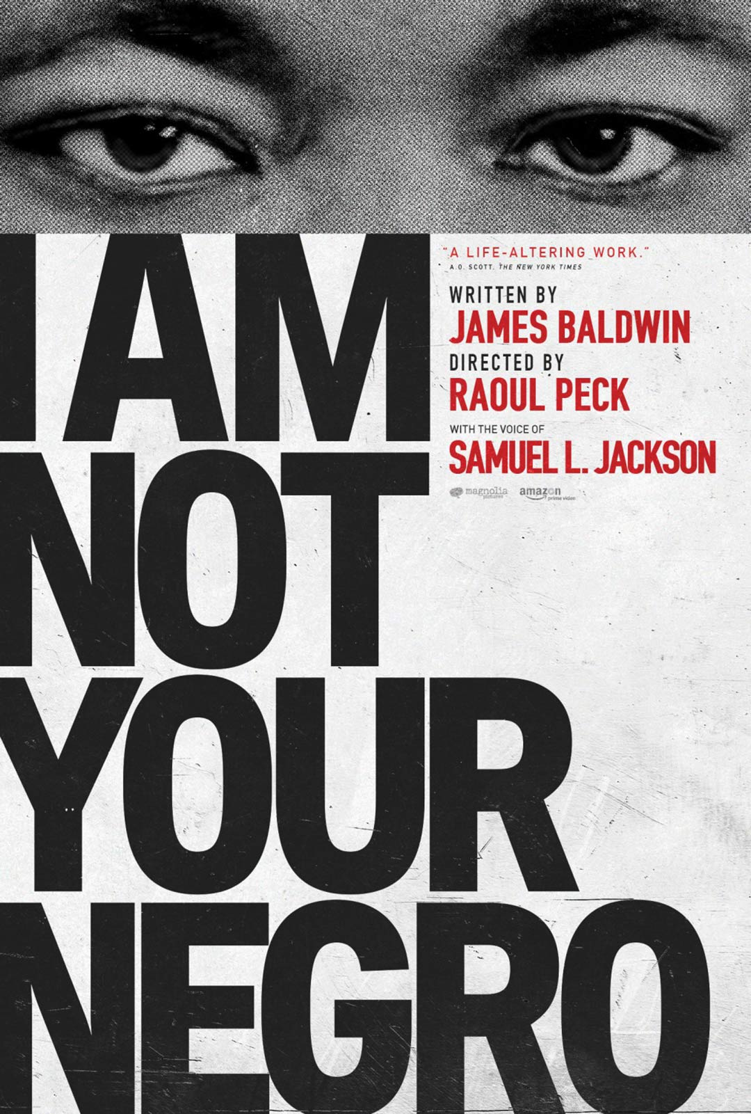 I Am Not Your Negro Poster #2